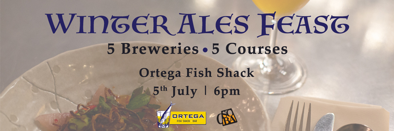 Winter Ales Feast, 5 July 2018 at Ortega Fish Shack